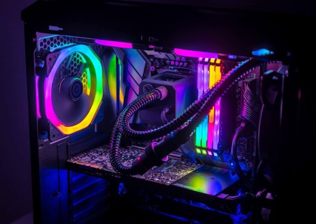 RGB motherboard