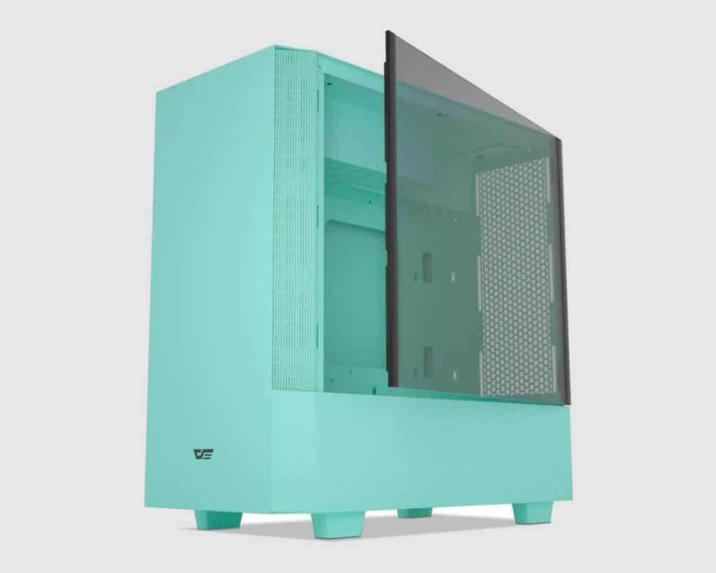 Green PC Case